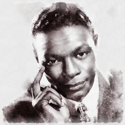 Nat King Cole, Singer Poster