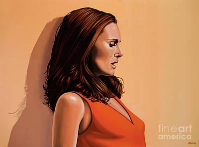 Natalie Portman 2 Poster by Paul Meijering