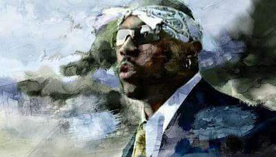 Nate Dogg 52457654990 Poster by Jani Heinonen