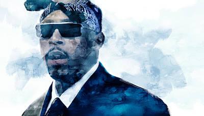 Nate Dogg 8765 Poster by Jani Heinonen