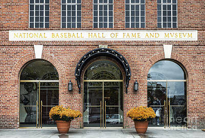 National Baseball Hall Of Fame Poster