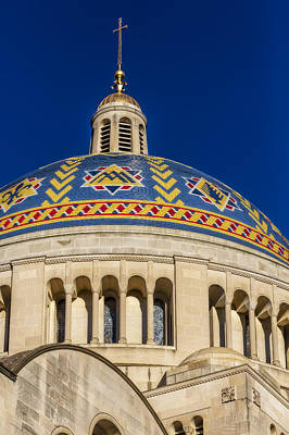 National Shrine Dome Poster by Susan Candelario