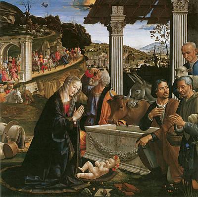 Nativity  Poster by Domenico Ghirlandaio