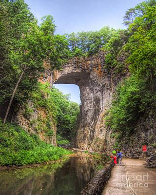 Natural Bridge - Virginia Landmark Poster