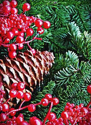 Natural Christmas 2 Poster by Sarah Loft