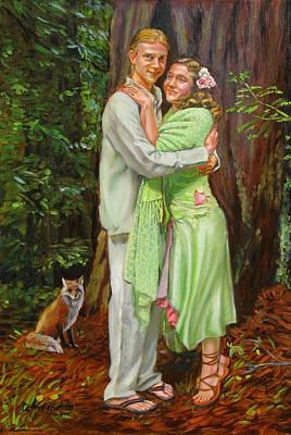 Natural Love Poster by Dominique Amendola