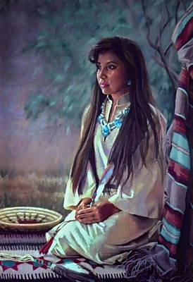 Navajo Beauty Poster