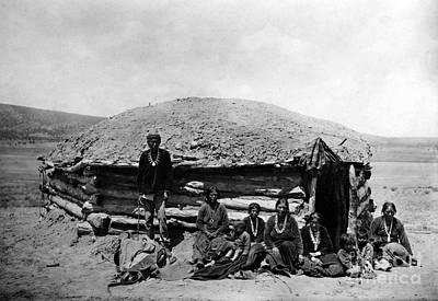 Navajo Dwelling, C1906 Poster
