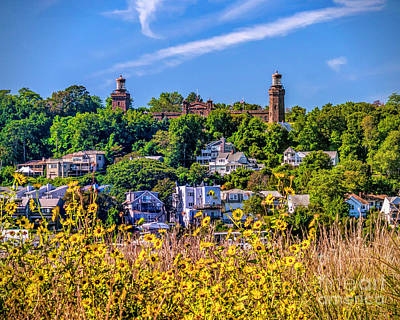 Navesink Light On The Hill Poster