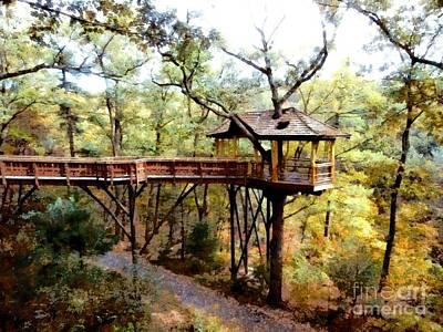 Nay Aug Park Treehouse - Scranton Pa Poster