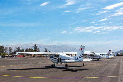 Nazca Airport Poster