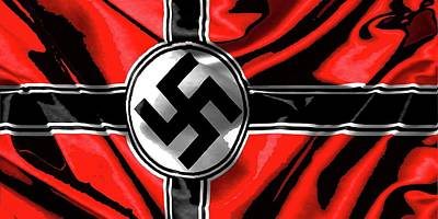 Nazi Flag Color Added 2016 Poster