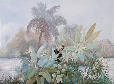 Nebbia Luminosa Poster by Guido Borelli