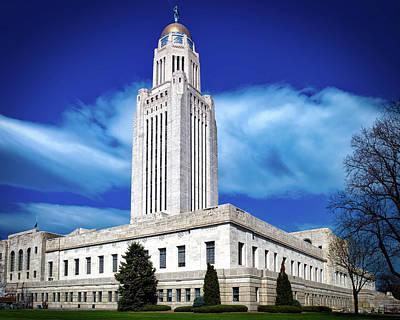 Nebraska Capitol Building Poster by Mountain Dreams