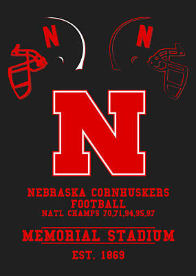 Nebraska Cornhuskers 2 Poster