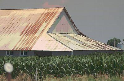 Nebraska Farm Life - The Tin Roof Poster