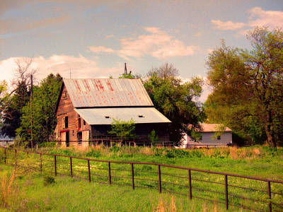Poster featuring the photograph Nebraska In The Summer Afternoon by Tyler Robbins
