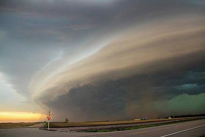 Nebraska Thunderstorm Eye Candy 026 Poster