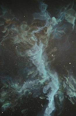 Nebula Seven Poster by Emily Magone