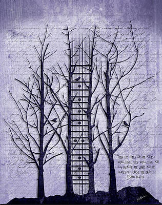 Neck Of The Woods II  Poster by Gary Bodnar