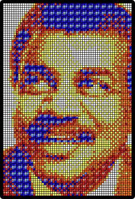 Neil Degrasse Tyson Art Mosaic Poster