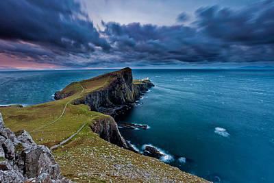 Neist Point, Isle Of Skye, Scotland Poster by Eddie Esdale