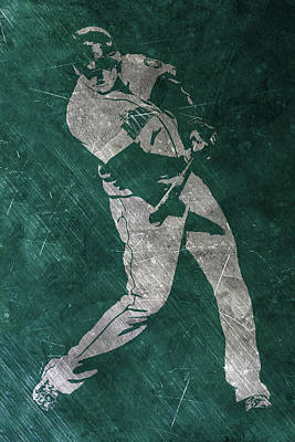 Nelson Cruz Seattle Mariners Art Poster by Joe Hamilton