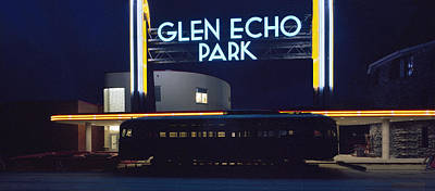 Neon Park Poster