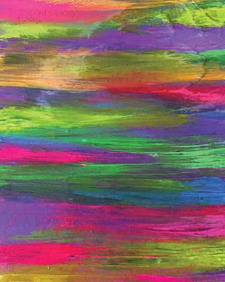 Neon Rainbow Poster
