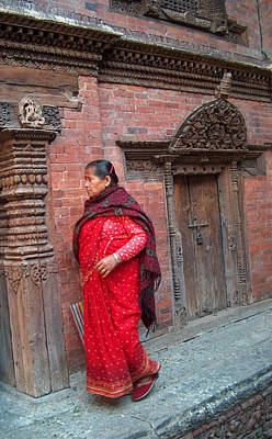 Nepalese Woman Poster