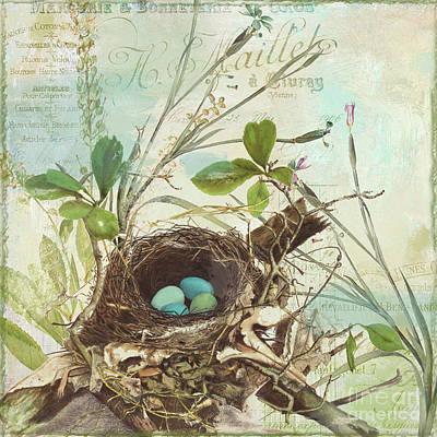 Nesting I Poster