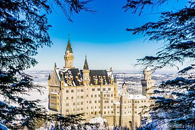Neuschwanstein Castle Poster by Alpha Wanderlust