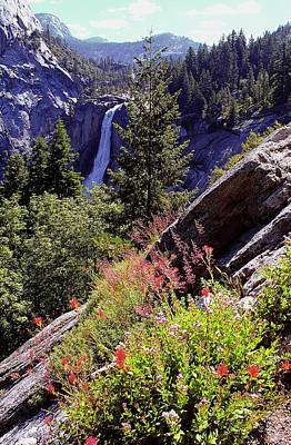 Nevada Falls Yosemite National Park Poster