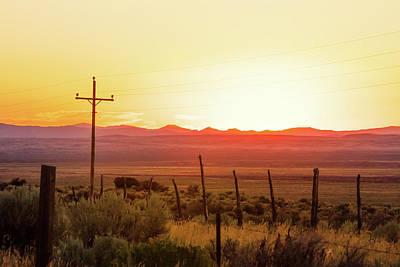 Nevada Sunset Poster by Todd Klassy
