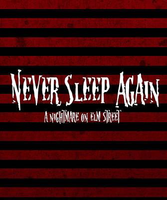 Never Sleep Again Poster