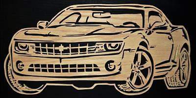 New Generation Camaro Poster by Michael Bergman