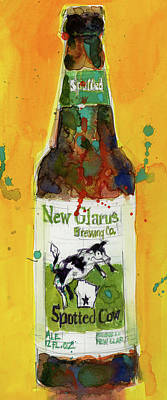 New Glarus Brewing Co. Wisconsin  Poster