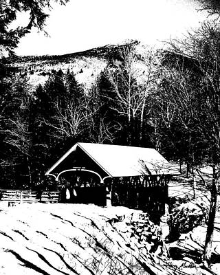 New Hampshire Covered Bridge Poster