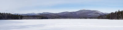 New Hampshire White Mountains Panorama Poster