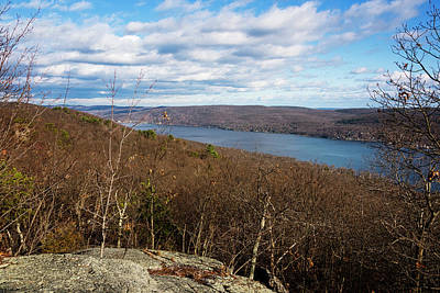 New Jersey Mountaintop View Poster by Joan Carroll