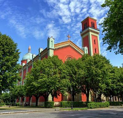 New Lutheran Church In Kezmarok, Slovakia Poster by Elenarts - Elena Duvernay photo