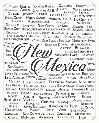 New Mexico Poster by Finlay McNevin