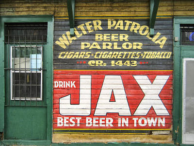 New Orleans Beer Parlor Poster