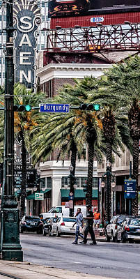 New Orleans Streetcars Triptych 1 Poster