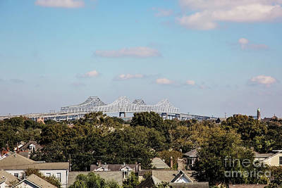 New Orleans Twin Spans  Poster