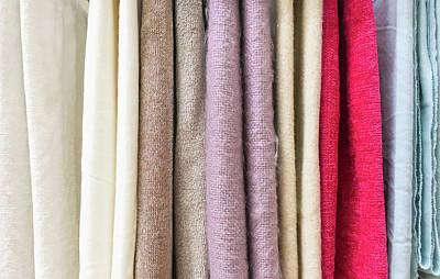 New Textiles Poster
