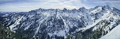 Alpental Backcountry Poster by Danny Larsen