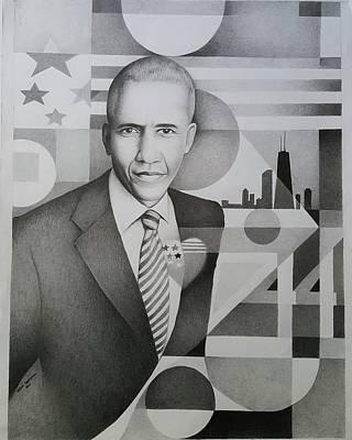 Hope 44 Barrack Obama Poster