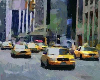 New York 01 Poster by Yury Malkov