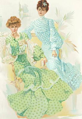 New York 1904 Fashion Art 10 Poster